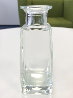 Vase Glas durchsichtig