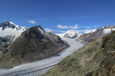 Aletschgletscher verliert rasant an Eisvolumen