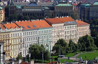 Prag - Park Klarov