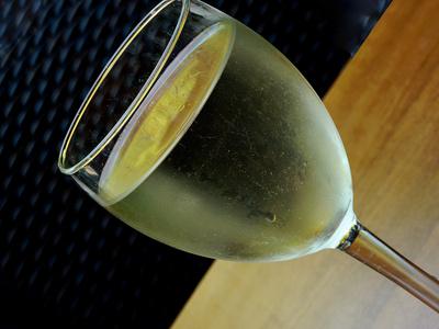 Ein Gläschen Wein.