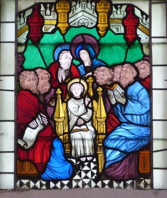 12jähriger Jesus im Tempel