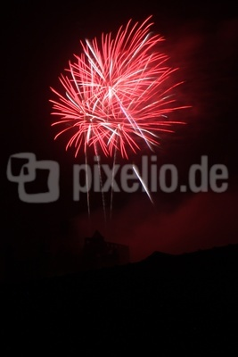 Feuerwerk Michalismesse Wertheim