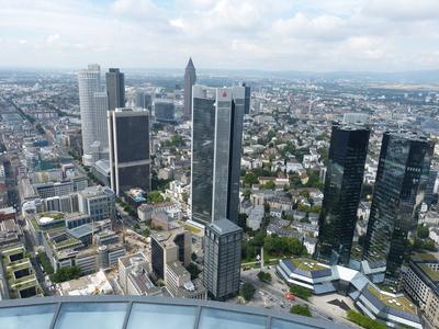 Blick auf Frankfurt 1