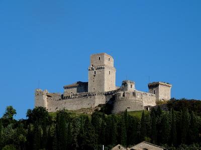 Die Burg Rocca Maggiore
