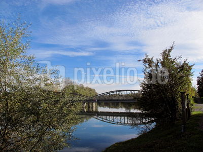 Reussbrücke bei Rottenschwil