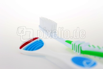 Zahnbüste mit Zungenschaber