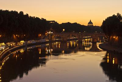 ein Abend am Tiber