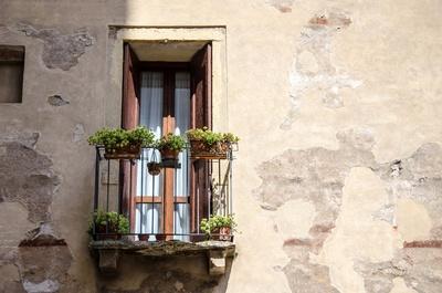 Schmuckfensterchen in Verona