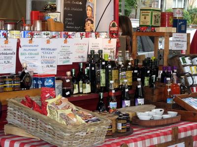 Tolles Cafe auf dem Isemarkt