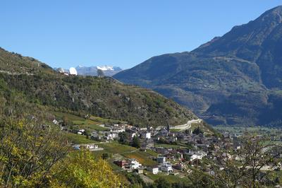 Das Dorf Leuk / Wallis