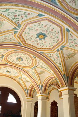 Das Innere der Klosterkirche Andechs 01