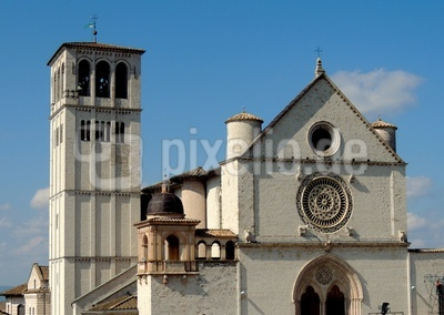 Die Oberkirche San Francesco