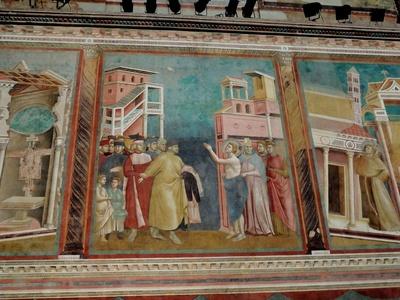 Fresko von Giotto di Bondone