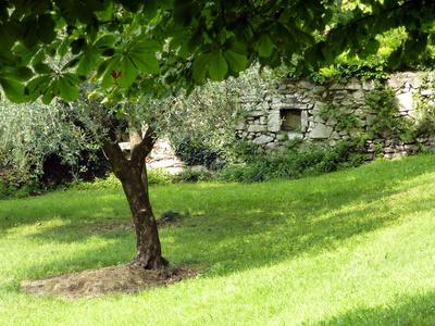 Trockensteinmauer in Sulzano