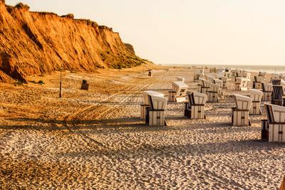 Insel Sylt am roten Kliff 01