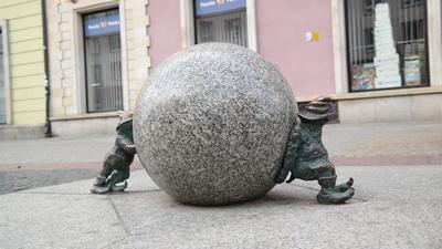 Breslau Zwerge - Sisyphuschen
