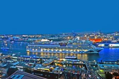 AIDAstella bei den Hamburg Cruise Days 2014