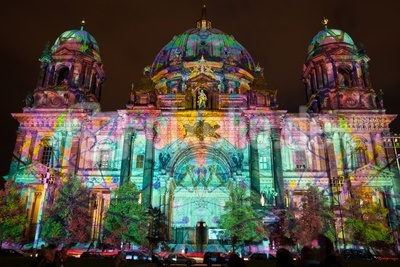 Berliner Dom/ Festival of Lights