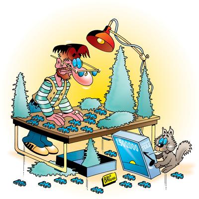 Helden des Hobbys: Der Puzzlespezialist