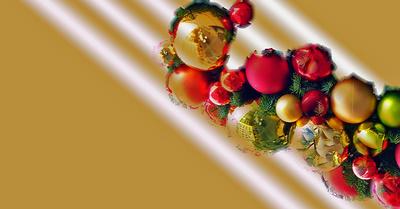 Weihnachtskugeln / -schmuck ..