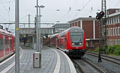 Abfahrt im Hauptbahnhof