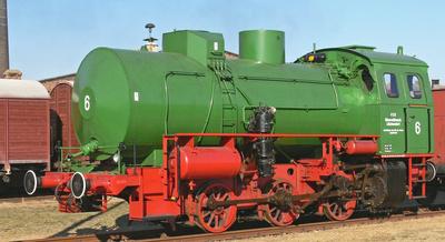 Das grasgrüne Dampfmonster