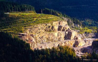 Steinbruch im Nordschwarzwald