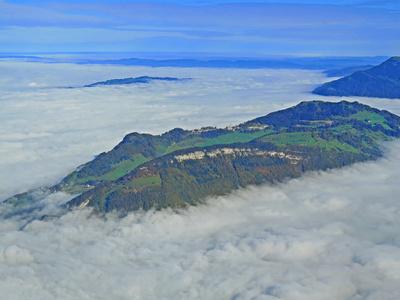 «Insel» Bürgenstock im Nebelmeer
