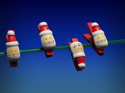 santa claus on line
