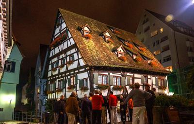 Ulm - das schiefe Haus