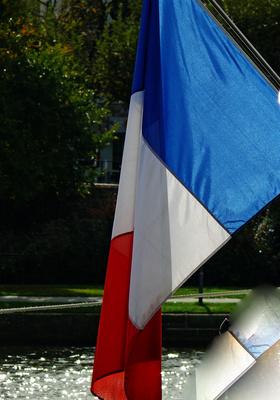 Fahne  Frankreich