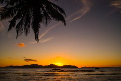 Sonnenuntergang im Paradies - Seychellen