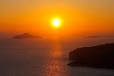 Sonnenuntergang bei Cassis