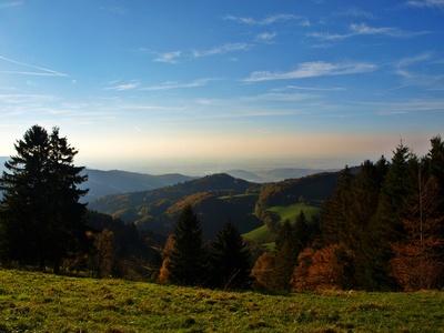 Blick bis ins Rheintal