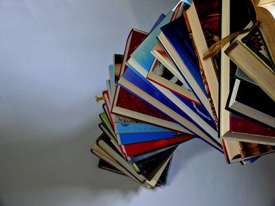 Bücherstapel ....