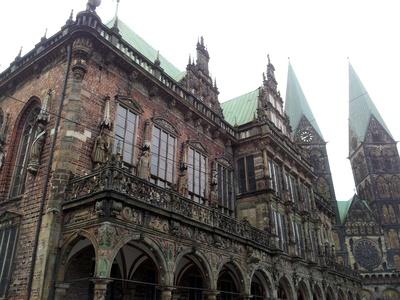 Bremer Rathaus mit Dom