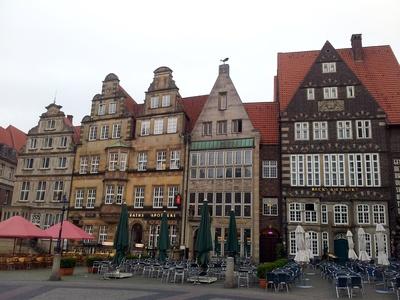 Fassaden auf dem Bremer Markplatz