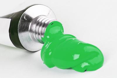 Acrylfarbe - grün