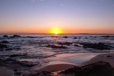 Sonnenuntergang in Bahia do Salvador