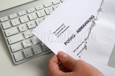 Porno-Abmahnung