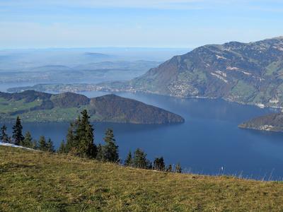 Klewenalp-Sicht auf den Vierwaldstättersee