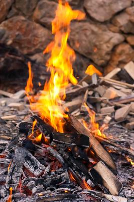 Ein fröhliches Feuerchen