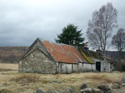 Auf dem Lande in Schottland