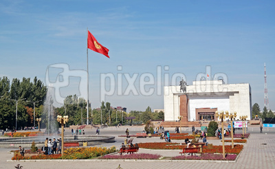 Alatoo-Platz in Bishkek