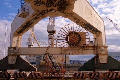 Eindrücke der Schiffswerft