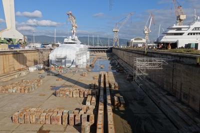 Trockendock Schiffswerft