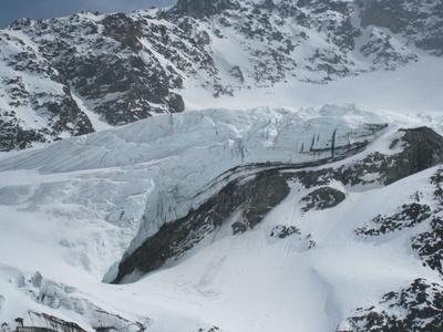 Gletscherzunge der Weißseespitze (3518m) /Österreich