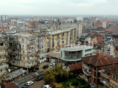 Die Dächer von Peć/Peja