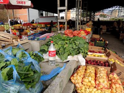 Markt in Istog