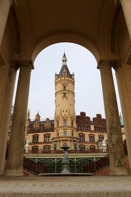 Schloss Schwerin Hochformat